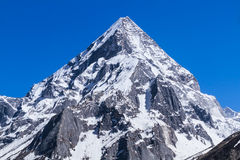 Mount Sudarshan - Indian Himalayas stock photography