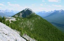 Mount Sulphur, Canada. Mount Sulphur in the Canadian Rockies, Banff National Park, Alberta Stock Photo