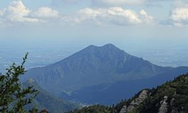 Mount SUMMANO, in the province of vicenza in Italy Stock Photography