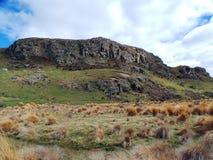 Edoras of Rohan; Mount Sunday, New Zealand Stock Photography