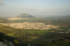 Mount Tabor Stock Image