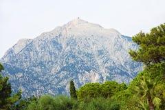 Mount Tahtali picturesque view.Kemer,Turkey. Stock Photos