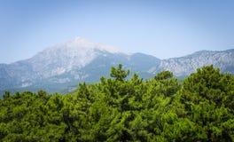 Mount Tahtali. Turkey. Royalty Free Stock Images