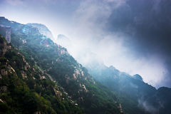 Mount Tai Royalty Free Stock Photo