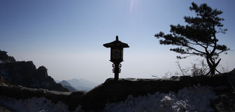 Mount taishan landscape Stock Photo