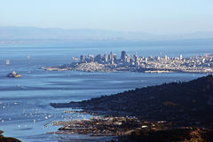 Mount Tam Viewpoint royalty free stock images