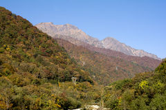 Mount Tanigawa Stock Images