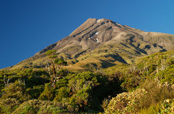 Mount Taranaki Royalty Free Stock Images