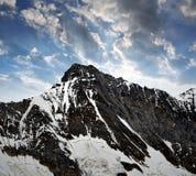 Mount Taschhorn Stock Images
