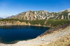 Mount Tate in Japan Royalty Free Stock Image