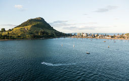 The Mount at Tauranga in NZ Royalty Free Stock Images