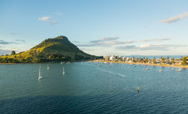 The Mount at Tauranga in NZ Royalty Free Stock Photos