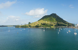 The Mount at Tauranga in NZ Royalty Free Stock Photo