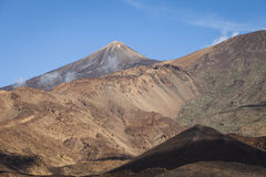 Mount Teide. A volcano on Tenerife, Canary Islands, Spain royalty free stock photography