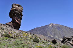 Mount Teide at Canary islands Stock Image