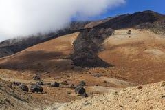 Mount Teide slope Royalty Free Stock Photos