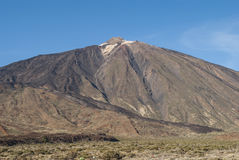 Mount Teide - Stratovolcano Stock Images