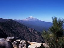 Mount Teide, Tenerife. Royalty Free Stock Photography