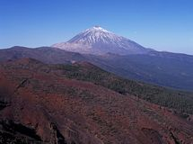 Mount Teide, Tenerife. Royalty Free Stock Images