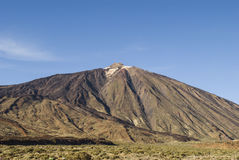 Mount Teide (Tenerife, Canaries, Spain) Royalty Free Stock Photo