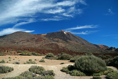 Mount Teide Royalty Free Stock Photo