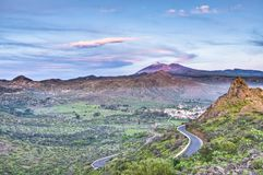 Mount Teide, Tenerife Island Royalty Free Stock Photos