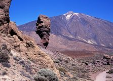 Mount Teide, Tenerife. Royalty Free Stock Photo