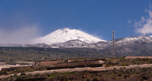 Mount Teide. Tenerife, seen from Alcala Stock Images