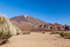 Mount Teide, Tenerife, Spain. Royalty Free Stock Photos