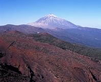 Mount Teide, Tenerife. Stock Photo