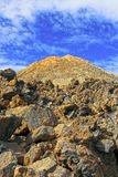 Mount Teide Volcanic Peak Stock Photography