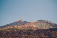 Mount Teide volcano Royalty Free Stock Photography