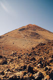 Mount Teide volcano Stock Image