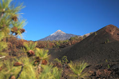 Mount Teide the volcano on Tenerife Stock Photo