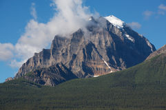 Mount Temple, Banff, Alberta, Canada Royalty Free Stock Photography