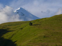 Mount Tetnuldi, Georgian Caucasus stock photography