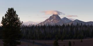 Mount Thielsen, Oregon Royalty Free Stock Photography