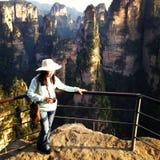 Mount Tian Chu San Royalty Free Stock Photography