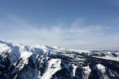 Mount Tien Shan. Snow tops Tian-Shanya, Kirghizia Royalty Free Stock Image