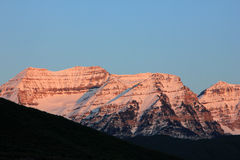 Mount timpanogos Royalty Free Stock Photo