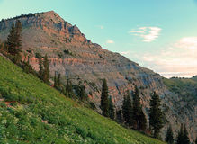 Mount Timpanogos. Royalty Free Stock Photography
