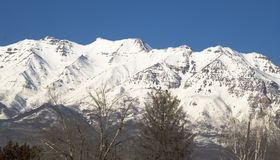 Mount Timpanogos from the Southwest Stock Images