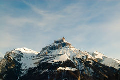 The mount titlis in Swiss Royalty Free Stock Images