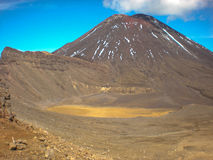 Mount Tongariro New Zealand Stock Photography