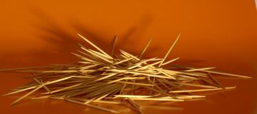 Mount toothpicks Stock Photo