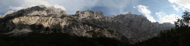 Mount Triglav in the Julian Alps, Slovenia. Royalty Free Stock Photo