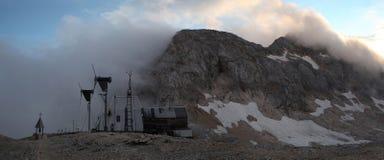 Mount Triglav in the Julian Alps, Slovenia. Stock Photos