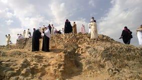 Mount Uhud Royalty Free Stock Images