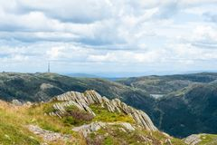 Mount Ulriken Stock Photography