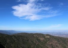 Mount Umunhum North View Royalty Free Stock Photography